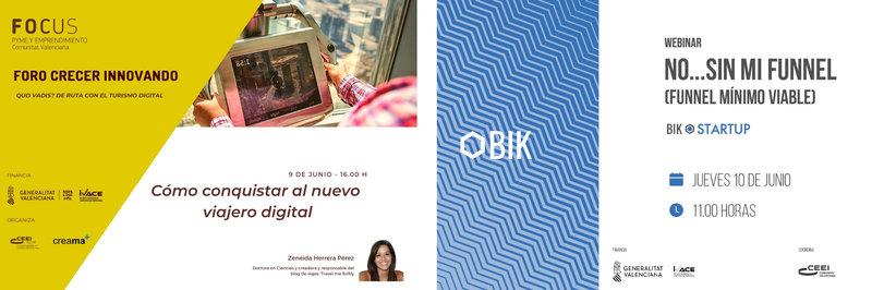#Felizlunes ¡Queremos invitarte a los webinars que hemos programado esta semana!