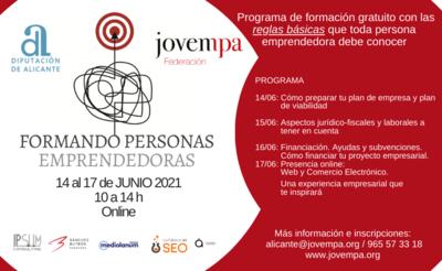 Formando Personas Emprendedoras Junio