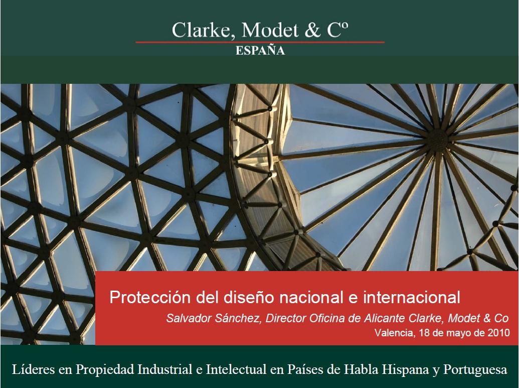 Protección diseño nacional e internacional
