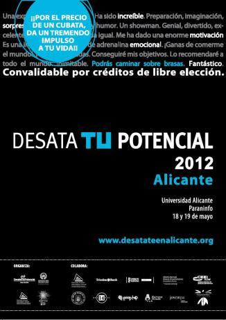 Desata Tu Potencial 2012 Alicante