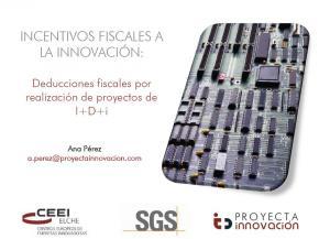 Incentivos fiscales a la innovación: Deducciones fiscales por realización de proyectos de I+D+i