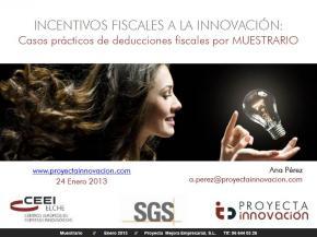Incentivos fiscales a la innovación: Casos prácticos de deducciones fiscales por Muestrario