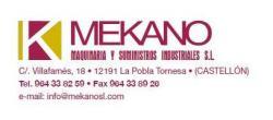 Mekano Maquinaria y suministros industriales s.l