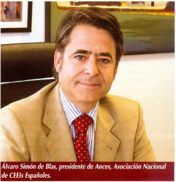 Alvaro Simón de Blas. Presidente de ANCES.