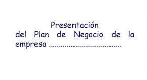 Guía de presentación del proyecto emprendeaventura@
