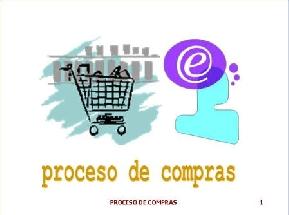 PROCESOS DE COMPRAS