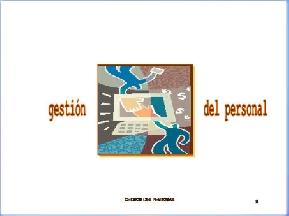 GESTIÓN DEL PERSONAL