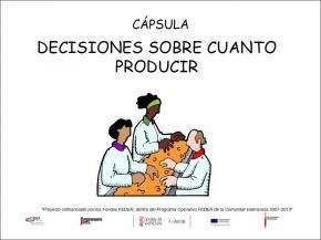 Decisiones sobre cuanto producir