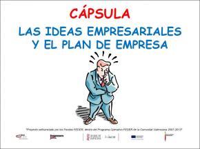 Las ideas empresariales y el plan de empresa