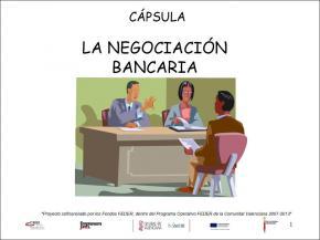 La negociación bancaria