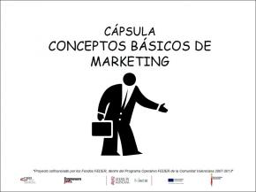 Conceptos b�sicos de marketing