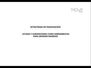 portada ponencia estrategias financiación