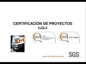 Certificación de proyectos I+D+i