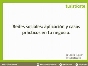 Redes sociales: aplicación y casos prácticos en tu negocio.