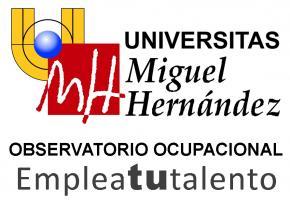 LOGO Observatorio Ocupacional Universidad Miguel Hernandez Elche UMH 2014