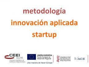 Metodología innovación aplicada startup