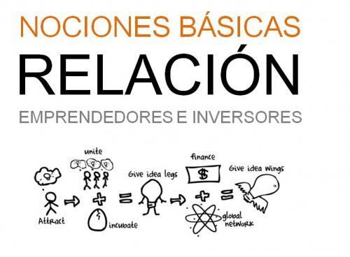 portada ponencia Aspectos básicos de la relación emprendedores e inversores