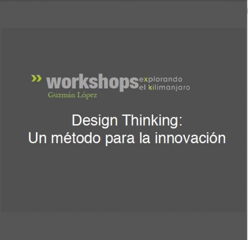 Design Thinking: Un método para la innovación