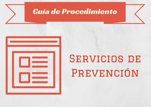 carteleria Guia proc Servicios prevenc