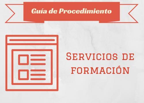 carteleria Guia proc servicios formación
