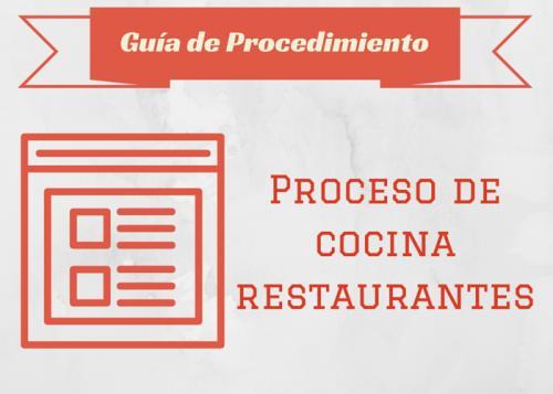 Guía Proc. Proceso de cocina - Restaurantes
