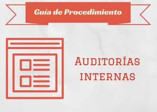 Guia Proc. Auditories internes