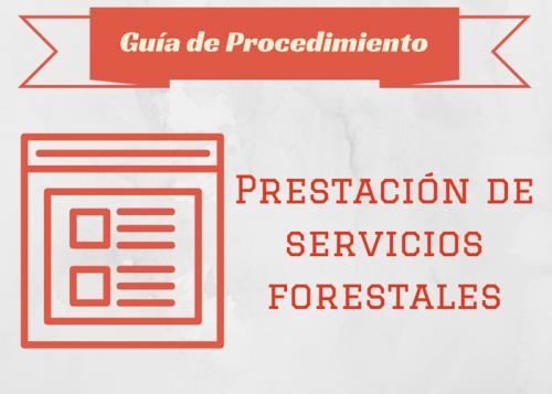 Gu�a Proc. Prestaci�n de servicios forestales
