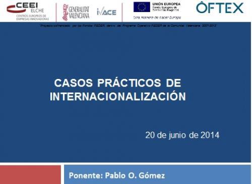 Casos prácticos de Internacionalización