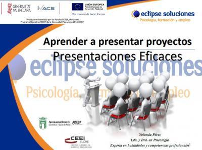 Aprende a presentar proyectos - Presentaciones eficaces