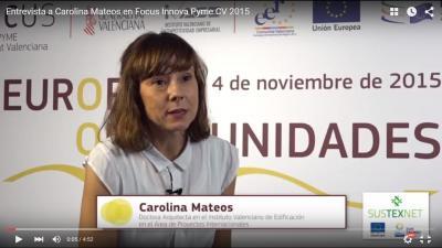 Entrevista Carolina Mateos FIPCV15