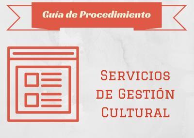 Gu�a Proc.  Servicios de gesti�n cultural