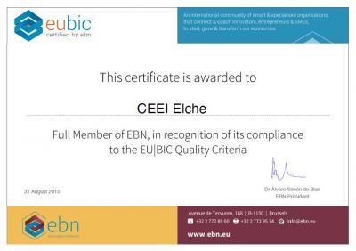 Certificado eubic