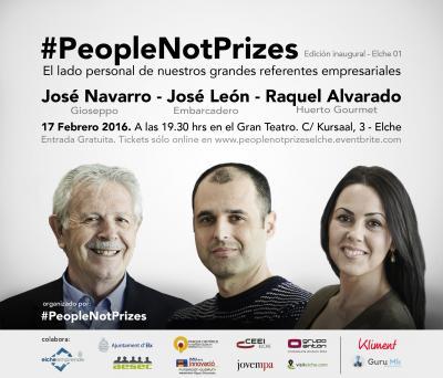 Evento #PeopleNotPrizes para emprendedores y empresarios en Elche