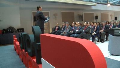 Rafael Mach�n en el IV Foro de Excelencia Comercial