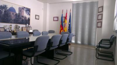 CEEI Elche Edificio Sala de Juntas