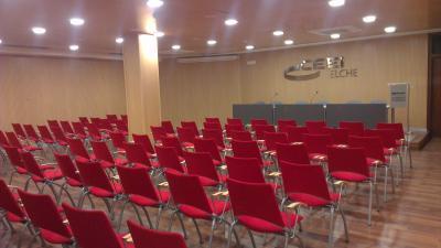 CEEI Elche Edificio salón de actos