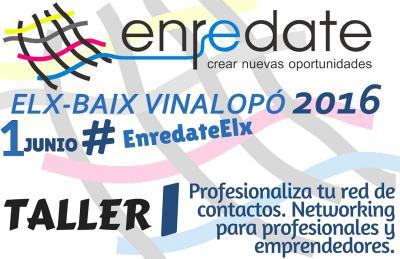 TALLER 1 ENREDATE ELX 2016