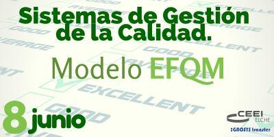 cartel jornada Sistemas de Gesti�n de la Calidad. Modelo EFQM