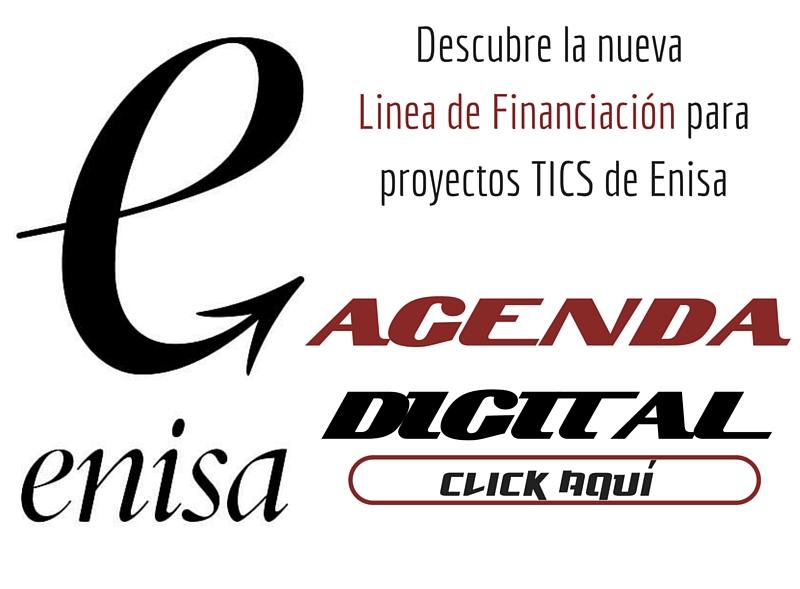 CEEI ELCHE TE INFORMA DE LA NUEVA L�NEA DE FINANCIACI�N DE PROYECTOS TICs DE ENISA