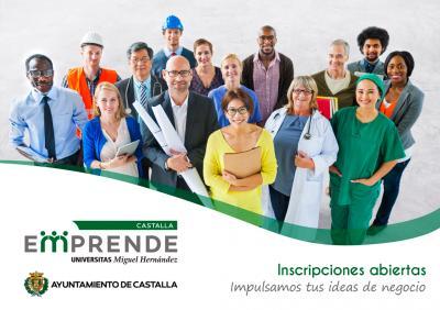 los emprendedores y empresas de Castalla recibirán asesoramiento, apoyo y seguimiento personalizado por parte del agente de Innovación del programa