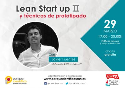 El CEO de Swipe APP, Javier Fuentes, será el encargado de impartir esta sesión
