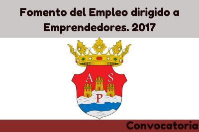Fomento de Empleo dirigido a Emprendedores. 2017
