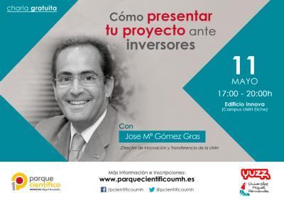 Gómez Gras destacará aspectos clave para el emprendedor como las formas, los contenidos o el valor añadido