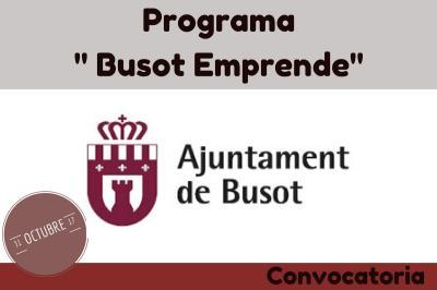"Programa "" Busot Emprende"""