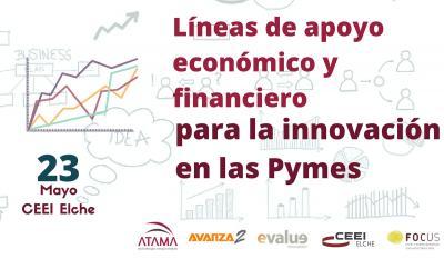 Líneas de apoyo económico y financiero para la innovación en las Pymes