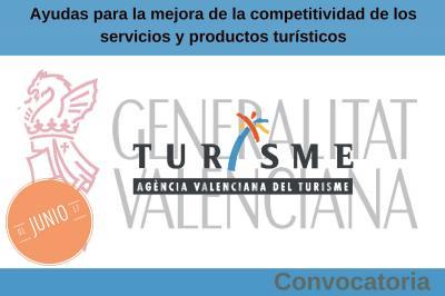 Ayudas para la mejora de la competitividad de los servicios y productos turísticos