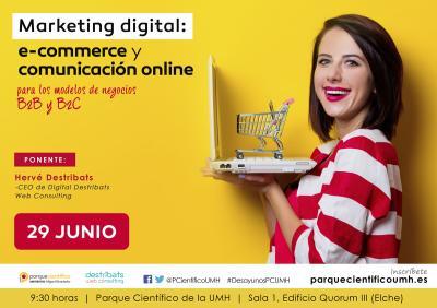 El objetivo de la jornada es presentar herramientas de marketing digital y despejar dudas frente a la comunicación online y al comercio electrónico