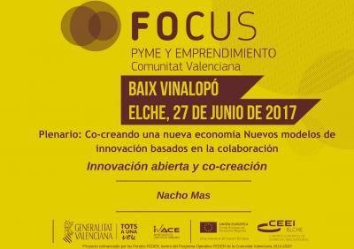Innovación abierta y co-creación. Nacho Mas