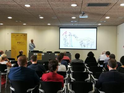 Prudencio López hablando de economía del bien común en las pymes