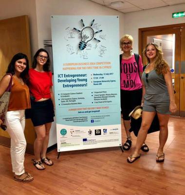Candidatas españolas en el ICT Entrepreneur 2017